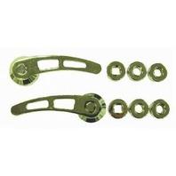 RACING POWER CO-PACKAGED Chrome Alum Door Handle 4-1/4In Long P/N - R8406