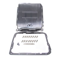 RACING POWER CO-PACKAGED GM 700R4 4L60 Alum Trans Pan Polished P/N - R8493