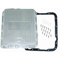 RACING POWER CO-PACKAGED Alum Trans Pan Gm 700R4- Extra Capacity-Pol P/N - R8494