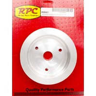 RACING POWER CO-PACKAGED BBC SWP 2 Groove Lower Pulley Satin P/N - R8843