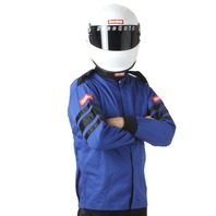 RACEQUIP/SAFEQUIP Blue Jacket Single Layer Medium P/N - 111023