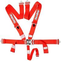 RACEQUIP/SAFEQUIP 5pt Harness Set L&L Red SFI P/N - 711011