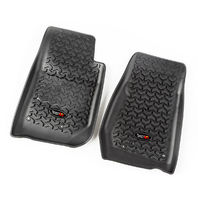 RUGGED RIDGE Floor Liners Front Black 14-18 Jeep Wrangler P/N -12920.03