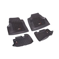 RUGGED RIDGE Floor Liner Kit Black 97-06 Jeep Wrangler/Unli P/N -12987.1