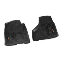 RUGGED RIDGE Floor Liners Front Black 10-18 Ram Megacab P/N -82903.08