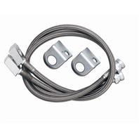 Rubicon Express RE15531 Brake Hose Fits 97-06 Wrangler (TJ)