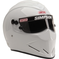 SIMPSON SAFETY Helmet Diamondback 7-1/4 White SA2015 P/N - 6297141