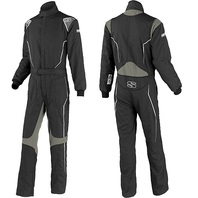 SIMPSON SAFETY Helix Suit Youth Small Black / Gray P/N - HXY2121