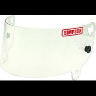 SIMPSON SAFETY Shield Clear Junior Speedway Shark P/N - J88600