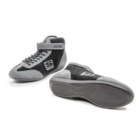 SIMPSON SAFETY Midtop Shoe Black 8.5  P/N - MT850BK