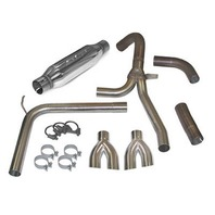 SLP PERFORMANCE Loud Mouth Exhaust Sys 98-02 LS1 GM F-Body P/N - 31042