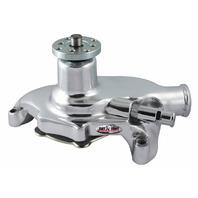 TUFF-STUFF SBC Water Pump Short Smoothie Chrome P/N - 1353NB