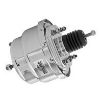 TUFF-STUFF 7in Dual Diaphram Power Brake Booster P/N - 2222NA