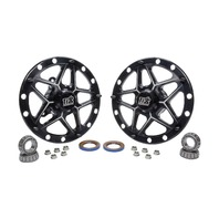 Ti22 PEFORMANCE Direct Mount Front Hubs Forged Black P/N - TIP2800