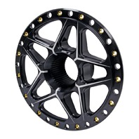 Ti22 PEFORMANCE Splined Wheel Center Black P/N - TIP2890
