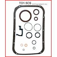87-90 Toyota 1.5L 3E,3EE Lower Gasket Set