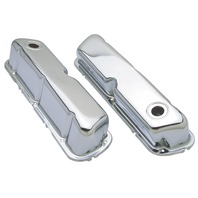 Trans-Dapt Performance Products 9237 Chrome Plated Steel Valve Cover