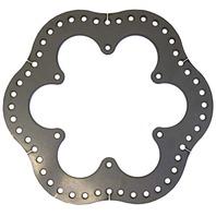 TRIPLE X RACE COMPONENTS Rear Brake Rotor Steel Ultralight P/N - 600-BK-0001