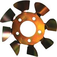 ULTRA COOL BRAKE FANS Brake Fan - LH 5x4-1/2 to 5-1/8 w/.625 Studs P/N - LMBFS5-625L