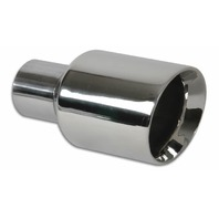 VIBRANT PERFORMANCE 3.5in Round Stainless St eel Tip Double Wall Ang P/N - VIB1226