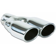 VIBRANT PERFORMANCE Dual 3.25in x 2.75in Ova l Stainless Steel Tips P/N - VIB1335