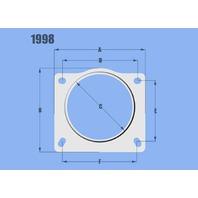 VIBRANT PERFORMANCE Mass Air Flow Sensor Ada pter Plate Various P/N - VIB1998