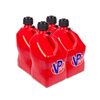VP FUEL CONTAINERS Utility Jug 5 Gal Red Square (Case 4) P/N - 3514