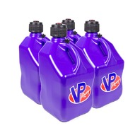 VP FUEL CONTAINERS Utility Jug 5 Gal Purple Square (Case 4) P/N - 3594