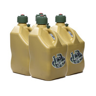 VP FUEL CONTAINERS Utility Jug 5 Gal Tan Square (Case 4) P/N - 4044