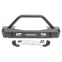 WARN 18- Jeep JL Stubby Front Bumper w/Grille Guard P/N -101330