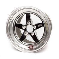 WELD RACING 15x4.075 RT-S Wheel 5x4.75 BC 1.5BS Black P/N - 71MB-504B15A