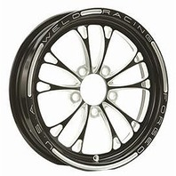 WELD RACING V-Series Frnt Drag Wheel Blk 15x3.5 5x4.5BC 2.25B P/N - 84B-15202