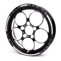 WELD RACING Magnum PRO 15x4 1pc Wheel 5x4.5 2.25BS Blk P/N - 86B-15202
