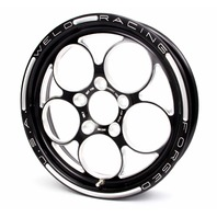 WELD RACING Magnum PRO 15x3.5 1pc Wheel 5x4.75 1.75BS Blk P/N - 86B-15274