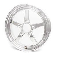 WELD RACING Aluma Star 15x3.5 1pc. Wheel 5x4.75  1.75 BS P/N - 88-15274