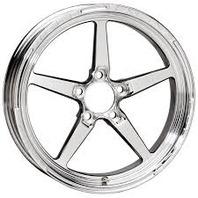 WELD RACING 17x4 Aluma Star 2.0 Wheel 5x4.5 2.25in BS P/N - 88B-1704204
