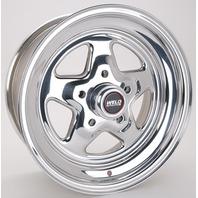 WELD RACING 15 X 7in. Pro Star 5 X 4.75in. 4.5in. BS P/N - 96-57278