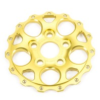 WELD RACING Import Drag Center 5 x 100mm Gold P/N - P613-7098