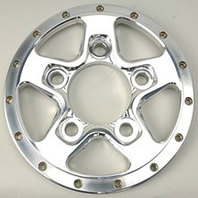 WELD RACING Aluma Star 2.0 Rear Wheel Center 5-4.5 P/N - P613-88 A
