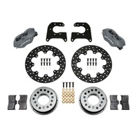 WILWOOD D/L Drag Rear Brake Kit Chevy 12 Blt C-Clip P/N - 140-0263-BD