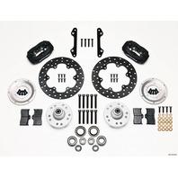 WILWOOD MD Drag Front Brake Kit GM Drilled Rotors P/N - 140-1019-BD
