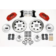 WILWOOD Front Disc Brake Kit Red 67-72 Camaro Nova 12.19 P/N - 140-10510-DR