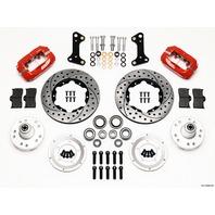 WILWOOD HD Front Brake Kit 67-72 Camaro/Nova Drilled P/N - 140-10996-DR