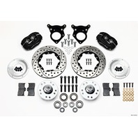 WILWOOD P/S Front Kit 87-93 Mustang 10.75in Rotor P/N - 140-11018-D