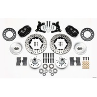 WILWOOD HD Front Brake Kit 62-72 A Body Drum Spindle P/N - 140-11022-D