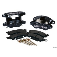 WILWOOD Front Caliper Kit D52 / Big GM Blk Powdercoat P/N - 140-11290-BK