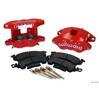 WILWOOD Front Caliper Kit D52/ Big GM Red Powdercoat P/N - 140-11291-R