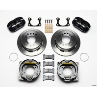 WILWOOD Rear Disc Brake Kit Big Ford w/Parking Brake P/N - 140-11387