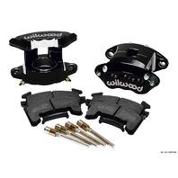 WILWOOD Front Caliper Kit D154/ Metric GM Blk Powdercoat P/N - 140-12097-BK