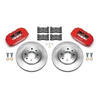 WILWOOD Brake Kit Front Honda/Acura Red P/N - 140-12996-R